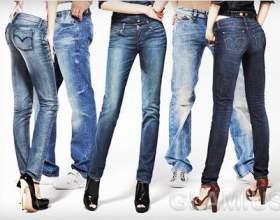 Модні джинси фото