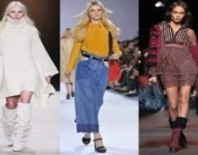 Модні тенденції осінь зима 2011 2012 фото