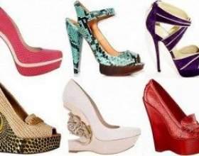 Модні туфлі 2012 фото