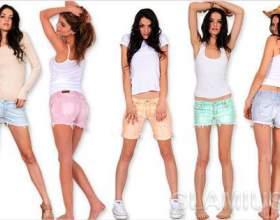 Модні жіночі шорти 2012 фото