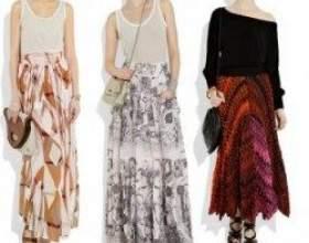 Неймовірно короткі і ультра-довгі модні спідниці 2011 року фото