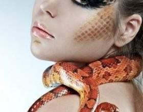 Новорічний макіяж на рік змії 2013 фото