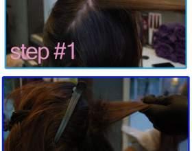 Фарбування волосся омбре фото
