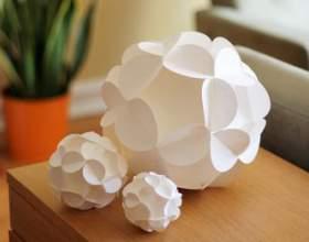 Орігамі - об`ємні сніжинки: схеми, шаблони, фото. Як зробити об`ємну новорічну сніжинку 3d з паперу своїми руками: покрокова інструкція фото