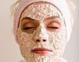 Вівсяна маска для обличчя живить і омолоджує фото