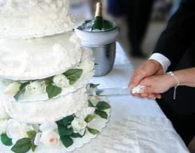 Перший спільний десерт - як різати весільний торт правильно і красиво фото