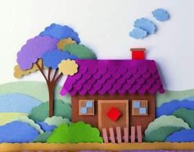 Вироби з паперу для дітей фото