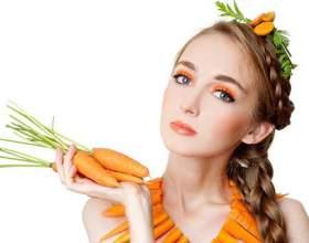 При яких станах шкіри обличчя ефективна морквяна маска? фото