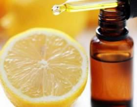 Застосування ефірного масла лимона для нігтів фото