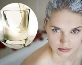 Рецепти кефірних масок для здоров`я волосся фото