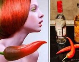 Рецепти масок з перцевої настоянки від випадіння волосся фото