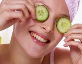 Рецепти корисних масок для обличчя з огірка фото