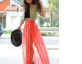З чим носити довгу спідницю? фото