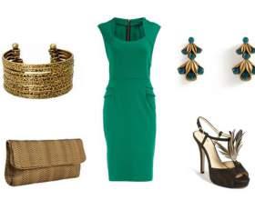 З чим носити смарагдове плаття? Як купити смарагдове плаття в інтернет магазині аліекспресс і ламода? фото