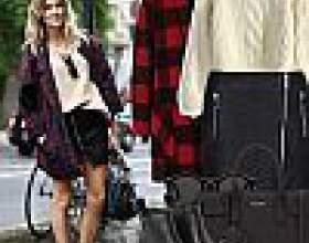 З чим носити коротке пальто? фото