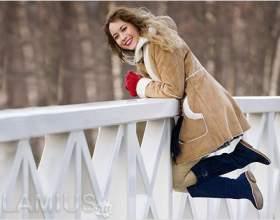 З чим носити замшеві чоботи фото