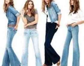 З чим носять джинси класичного і гостромодні крою фото