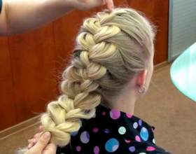 Шикарні зачіски з кіс фото