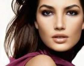 Створюємо гарний і правильний макіяж для карих очей покроково фото