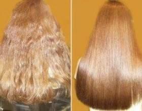Специфіка хімічного випрямлення кучерявих від природи волосся фото
