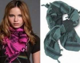 Способи зав`язування шарфа на шиї з відео і фото-поясненнями фото