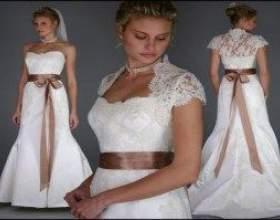Весільні сукні 2011 фото