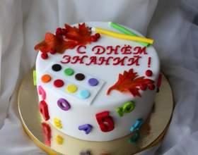 Торт на 1 вересня. Ідеї торта на 1 вересня фото