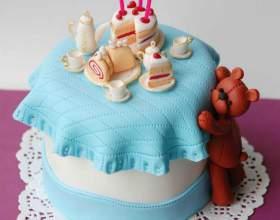 Торт на день народження дитині своїми руками. Дитячий торт своїми руками - майстер клас фото