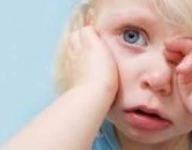 У дитини синці під очима - причини появленіяіі і рекомендації щодо усунення фото