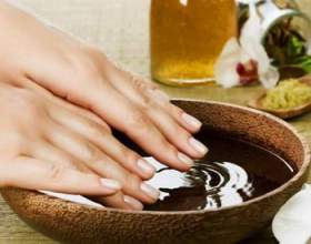 Зміцнення нігтів оливковою олією фото