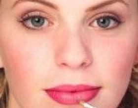 Збільшити губи в домашніх умовах - масаж і макіяж фото