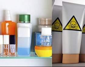 Шкідливі речовини, що входять до складу косметичних засобів фото