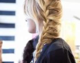 Заплітаємо модний колосок на довгі і короткі волосся покроково фото