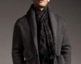 Зав`язати чоловічий шарф стильно і грамотно фото