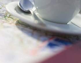 Зелена кава з імбиром фото